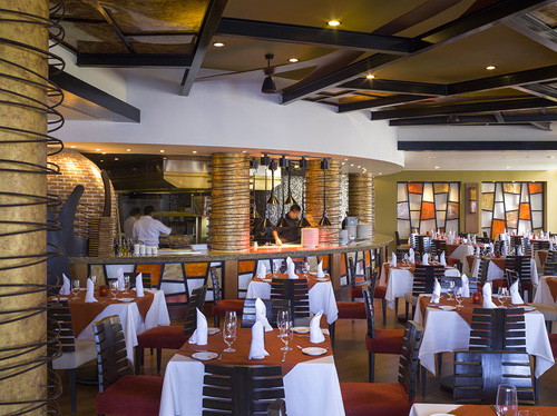 Dining at Davino Mediterranean Expression